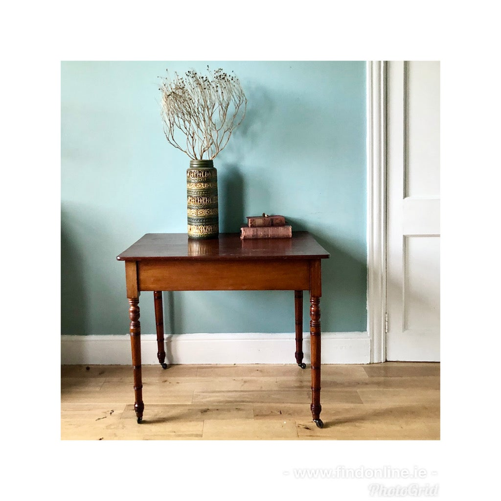 Georgian antique end table.