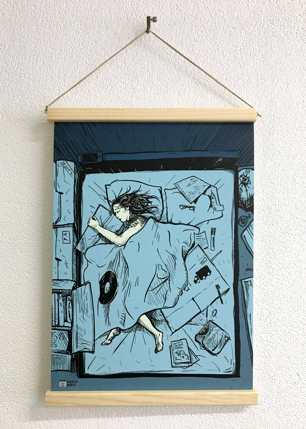 Limited Poster - Unusual Bedpartners