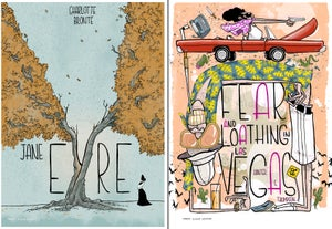 Classic Book Covers mini-prints / greeting cards