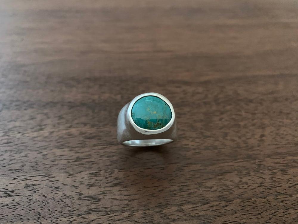 Image of King's Manassa Turquoise Ring