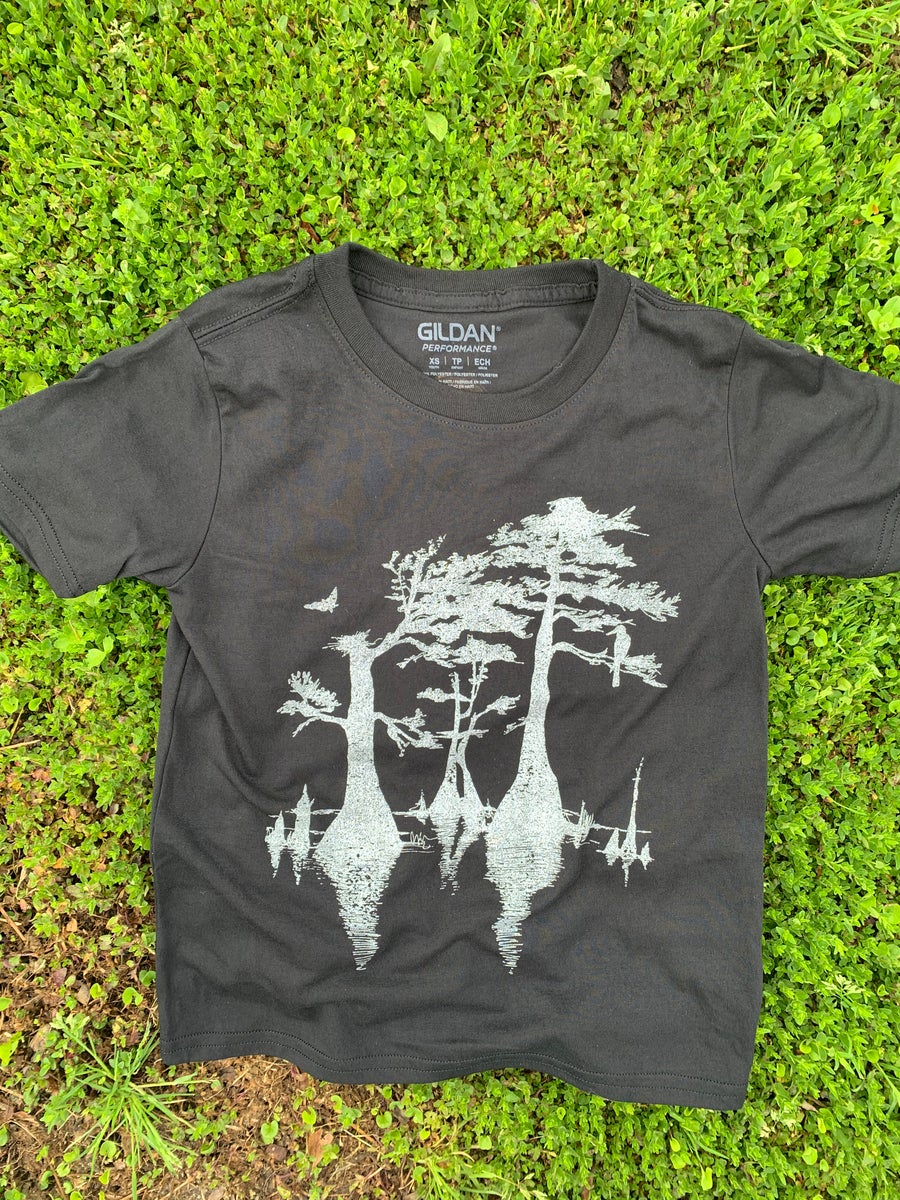 Image of Youth Cypress Tee in BLACK