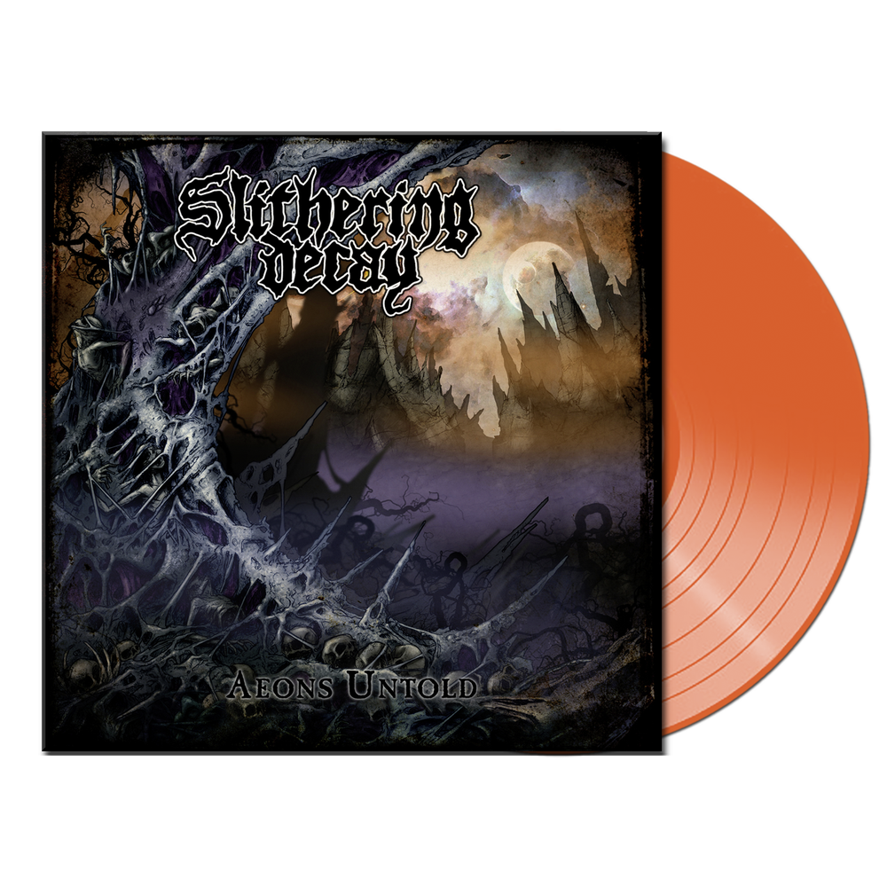 Image of Slithering Decay • Aeons Untold (Transparent Afterglow Vinyl)