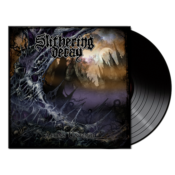 Image of Slithering Decay • Aeons Untold (Black Vinyl)