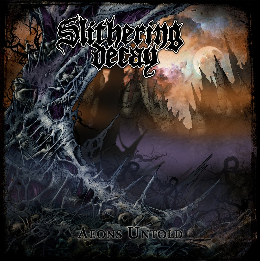 Image of Slithering Decay • Aeons Untold (CD Jewelcase)