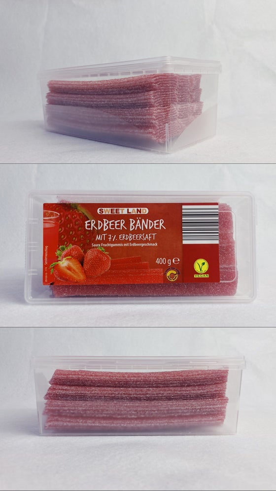 Image of Vegan Strawberry Laces Tub