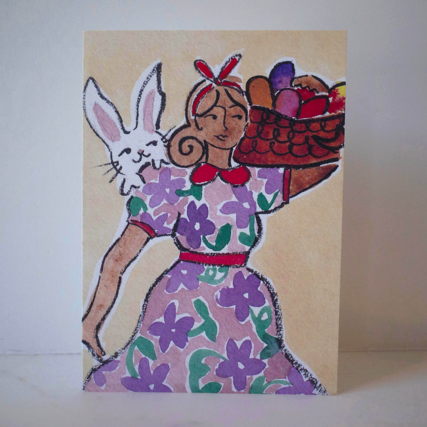 Once Upon an Easter Egg Card