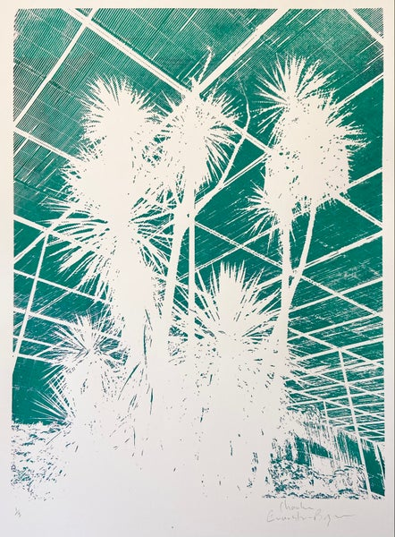 Image of Minimal Palm Print by Charlie Evaristo-Boyce