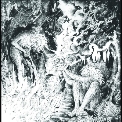 "Image of Sortilegia ""Sulphurous Temple""_ 12"" LP _ Ván Records"
