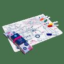 Image of Set en silicone à colorier DREAM VAN