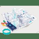 Image of Set en silicone à colorier BARRIERE DE CORAIL