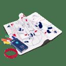 Image of Set en silicone à colorier PANDA