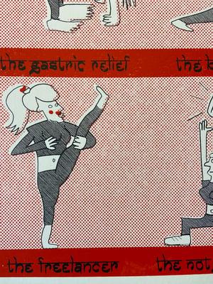 Image of Boring Yoga Girls by Charlie Evaristo-Boyce