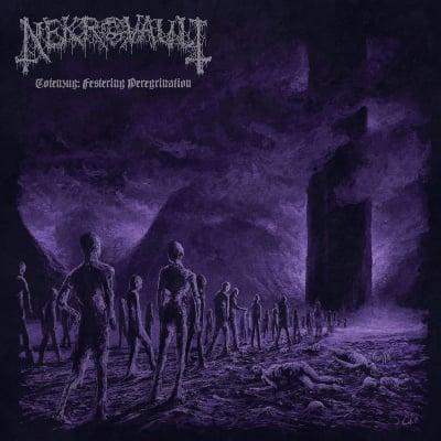 "Image of Nekrovault ""Totenzug: Festering Peregrination"" _ 12"" LP _ Ván Records"