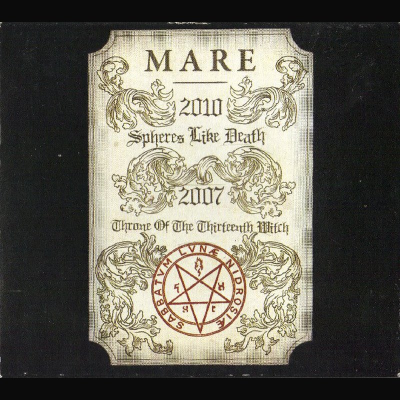 """Image of Mare  """"Spheres Like Death & Throne Of The Thirteenth Witch"""" _ 12'' LP _  Terratur Possessions"""