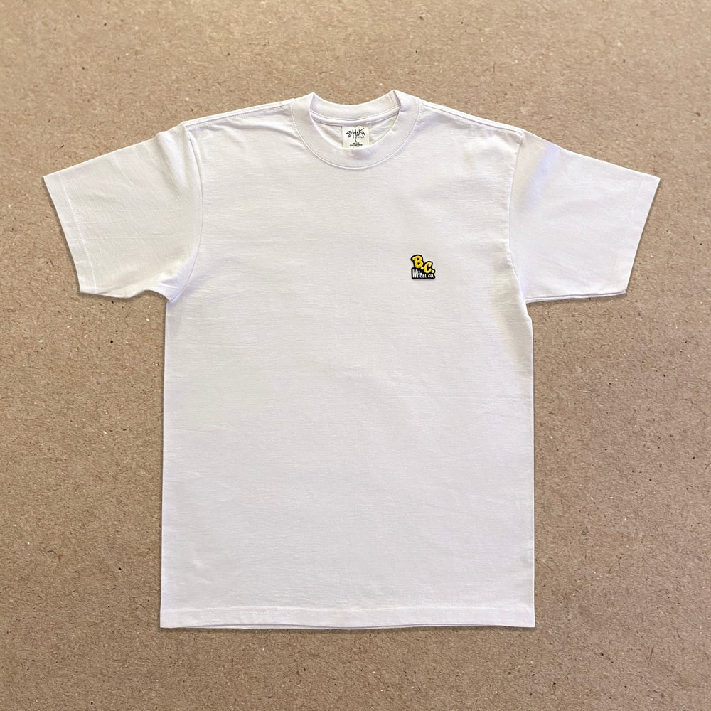 Image of B.C. Wheel Co Vintage Fit Patch Tee