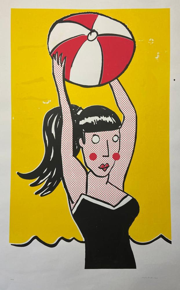 Image of Girl With Ball (2015) by Charlie Evaristo-Boyce