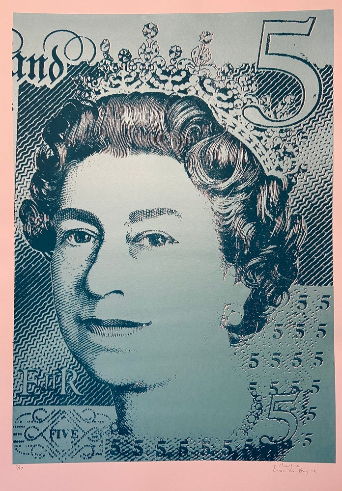 Image of New fiver by Charlie Evaristo-Boyce