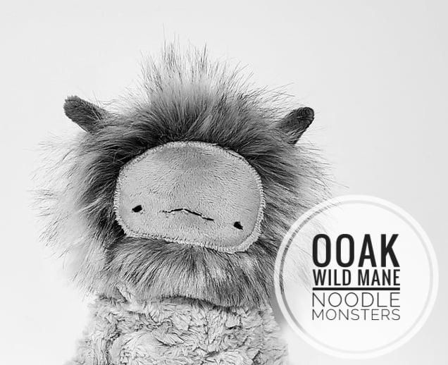 Image of Mystery OOAK Wild Mane Monster