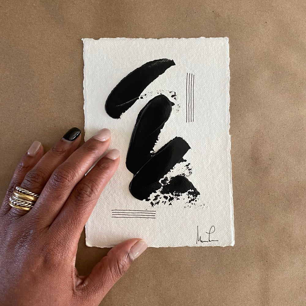 Image of Black Tie Cotton Rag (31)