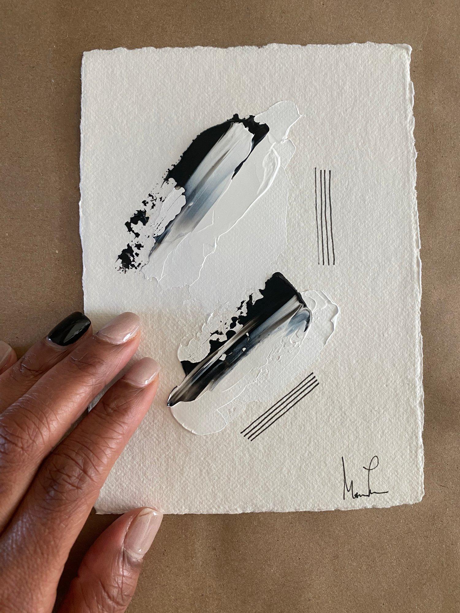 Image of Black Tie Cotton Rag (33)