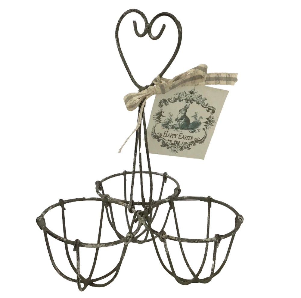 Image of Vintage Style Wirework Egg Holder