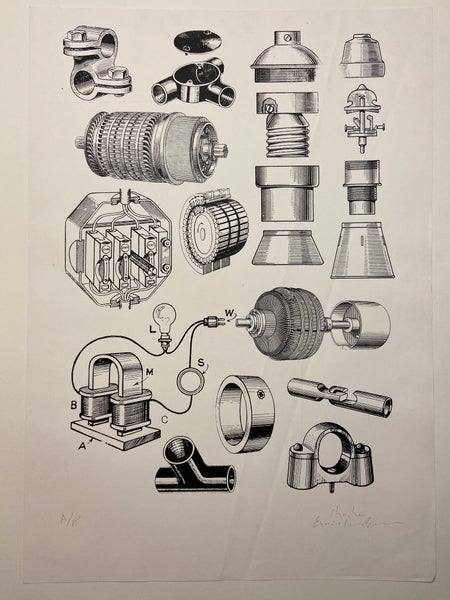Image of Practical Electrical Engineering - Artist Proof by Charlie Evaristo-Boyce