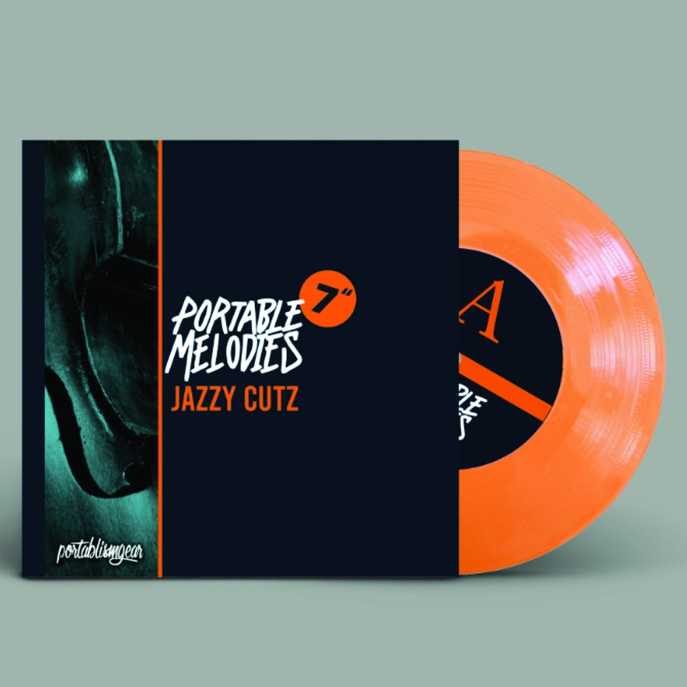 "Image of 7"" Portable Melodies ""Jazzy Cutz"" by JayFM / Portablism Gear"