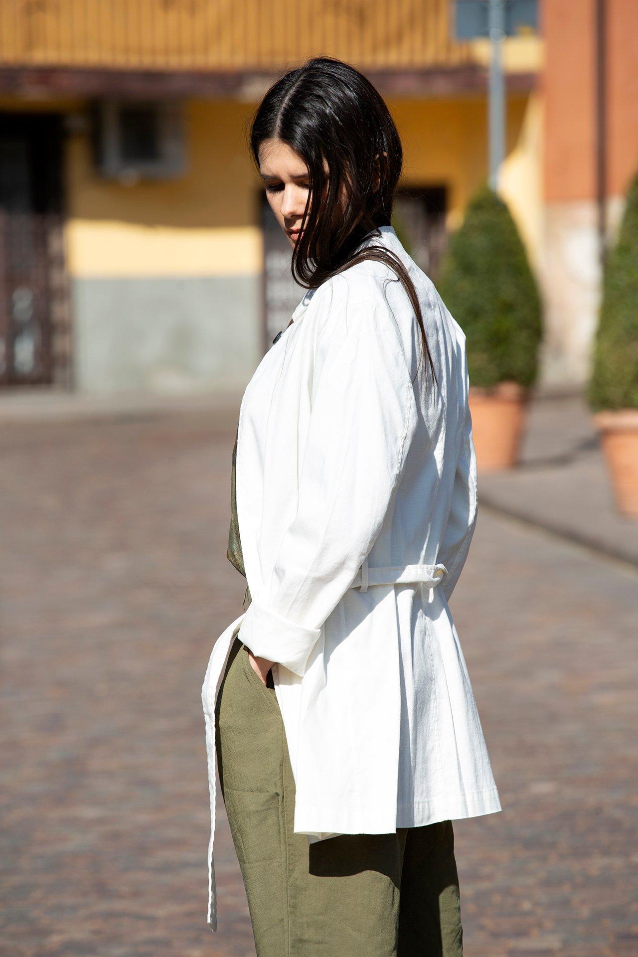 Image of Giacca Bianca