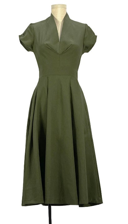 Image of Mona van Suess dress in olive
