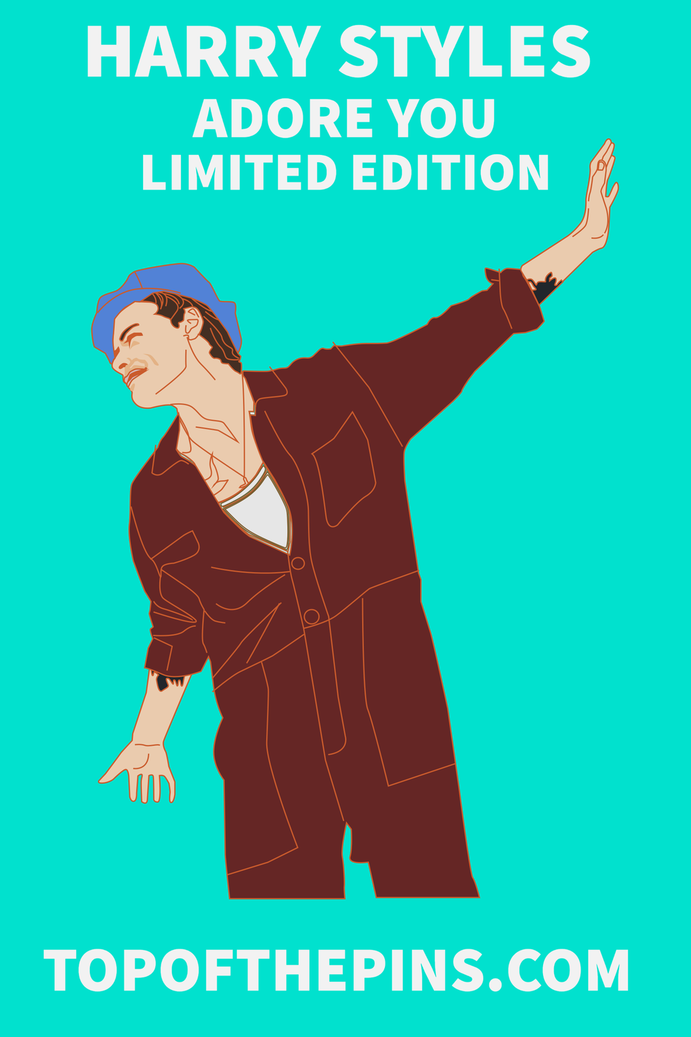 Harry Styles - Adore you Pin Badge