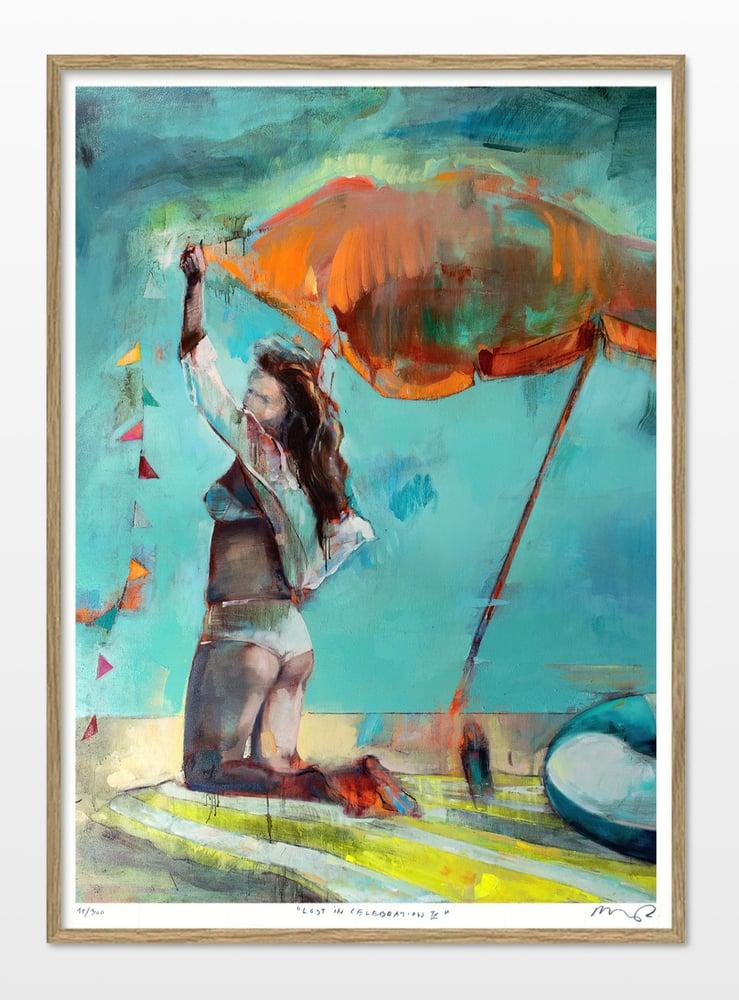 "Image of Artprint / kunsttryk / ""The celebration – Lost in celebration IX"" / 50x70 cm"