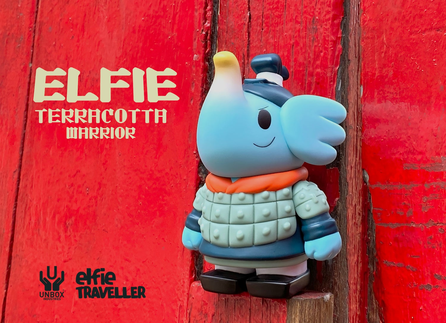 Image of TRAVELLER ELFIE 'TERRACOTA WARRIOR' COLOUR EDITION