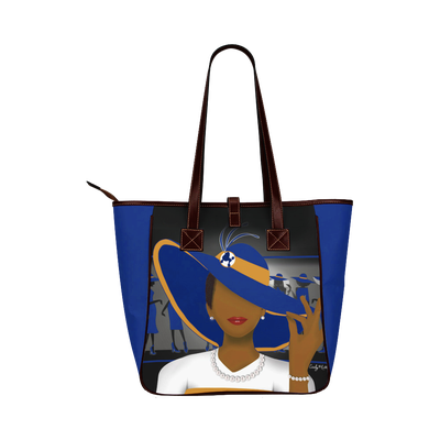 Image of Luxury Tote (SGRho Inspired)