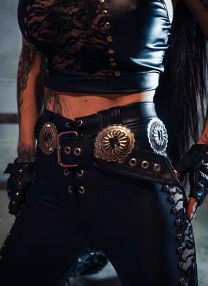 Image of Black Love Bites Belt
