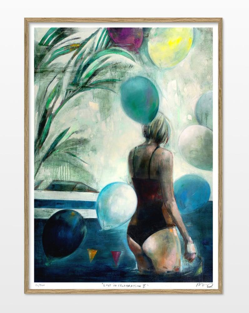 "Image of Artprint / kunsttryk / ""The celebration – Lost in celebration X"" / 50x70 cm"