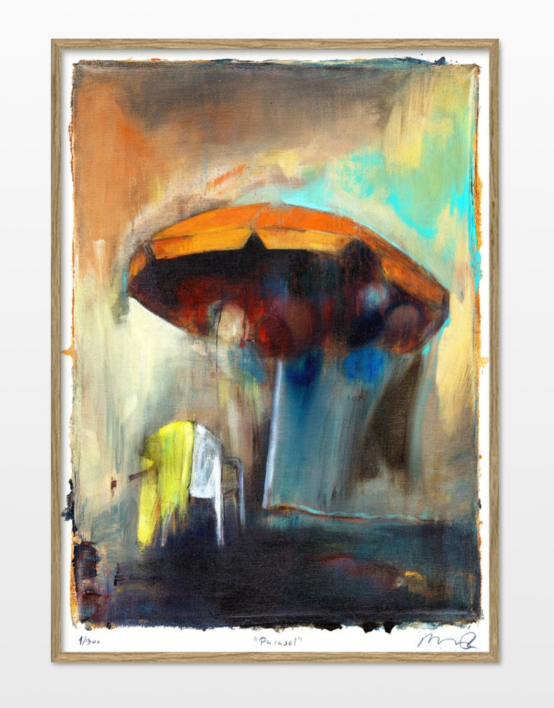 "Image of Artprint / kunsttryk / ""Parasol"" / 50x70 cm"