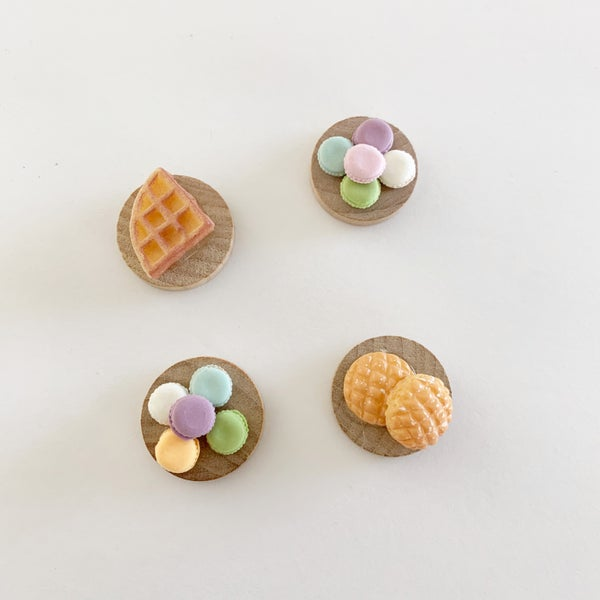 Image of Breakfast Pastries + Macarons