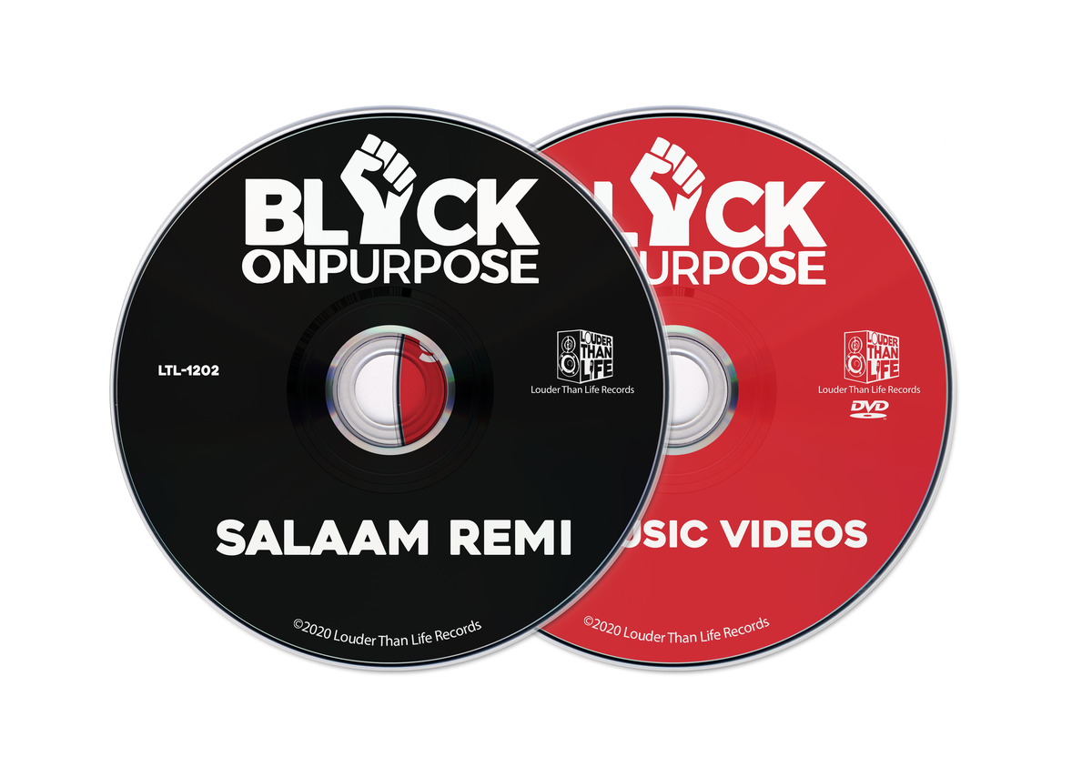 Image of Limited Edition Black On Purpose LP CD + DVD