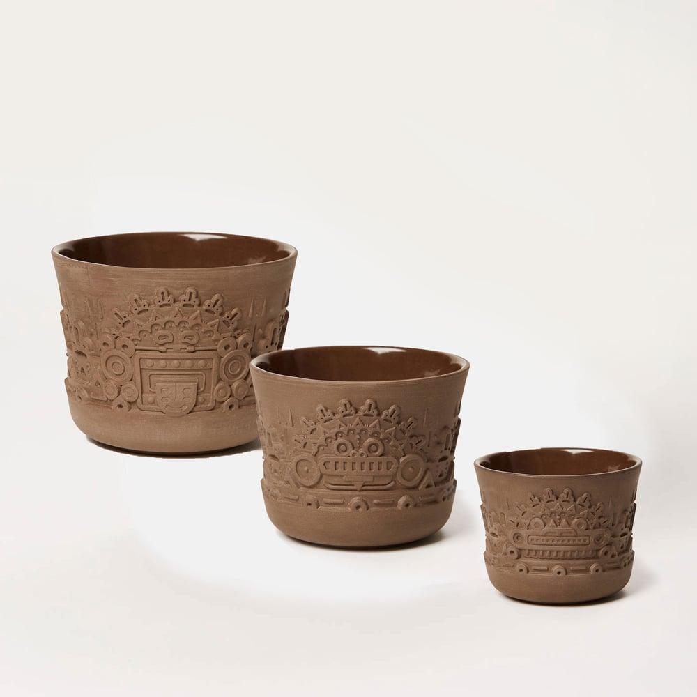Image of manoa flower pot trio