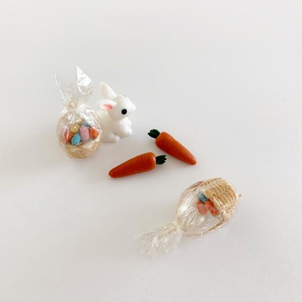 Image of Miniature Easter Dollhouse Decor