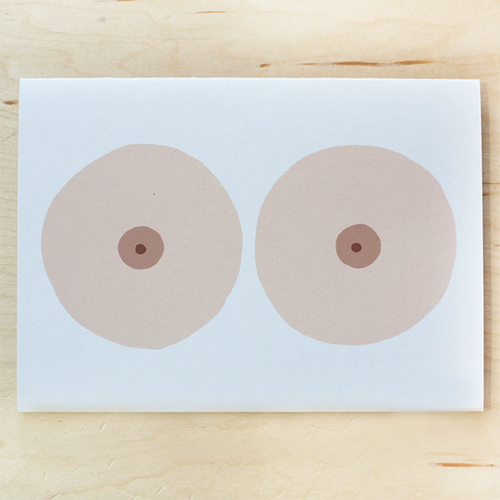 Image of BOOBS CARD