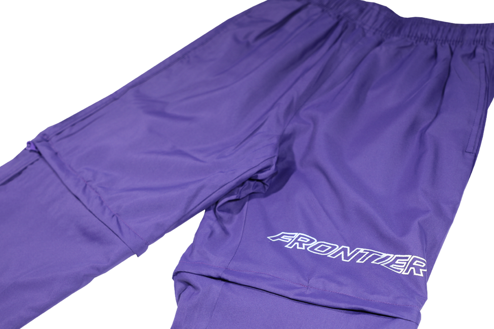 Image of 3M Frontier Waterproof Zip-Away Bottoms Purple