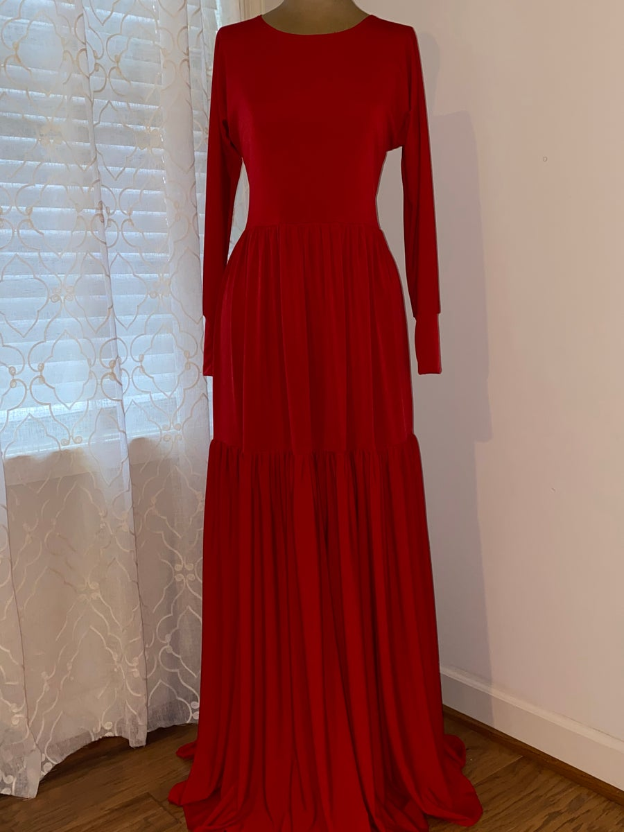 Image of Red Tier Garment