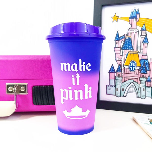 Image of Make It Pink Colour Change Cup