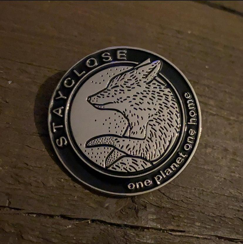 Image of Fox pin