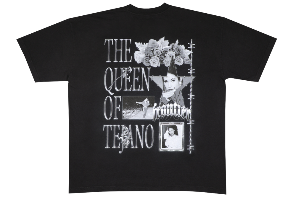 Image of Selena T-Shirt Black for Charity