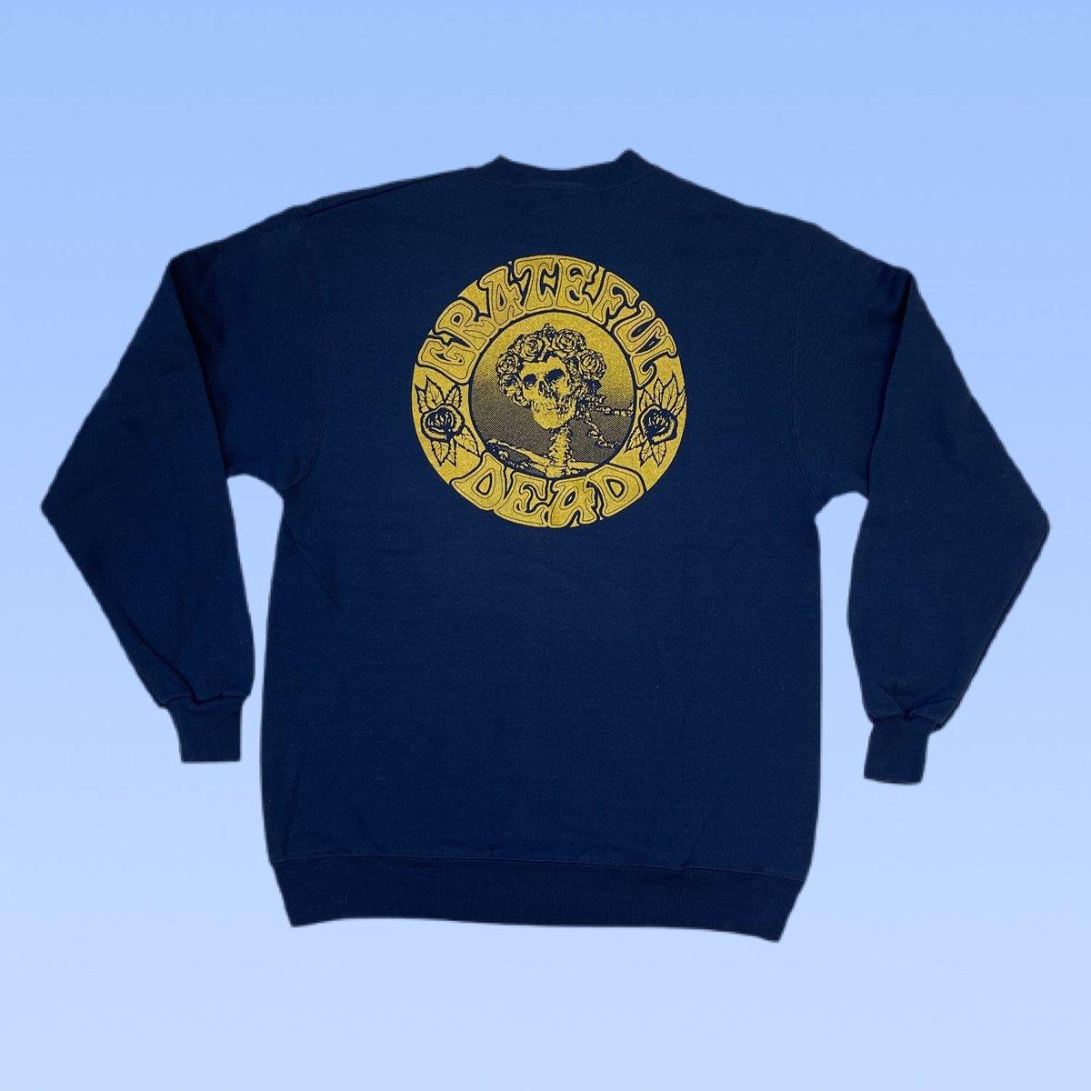 Original Vintage Grateful Dead 1990's Seva Long Sleeve Crewneck Sweatshirt! - SMALL or MEDIUM