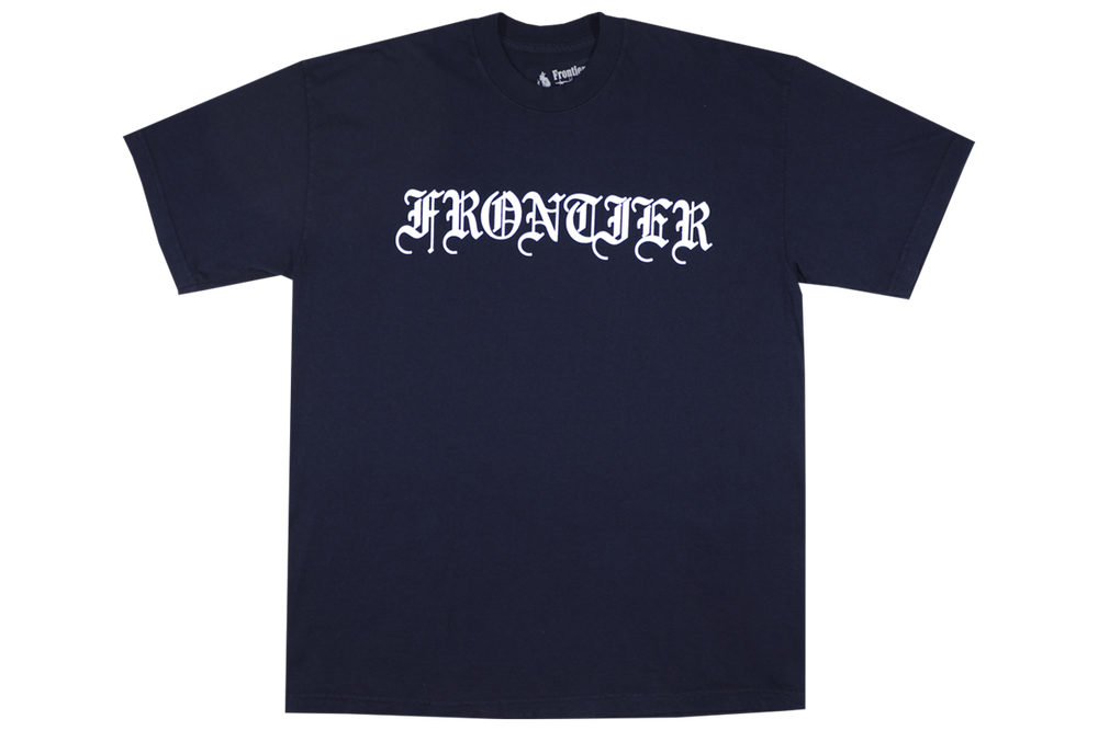 Image of 3M Blackletter Logo T-Shirt Navy