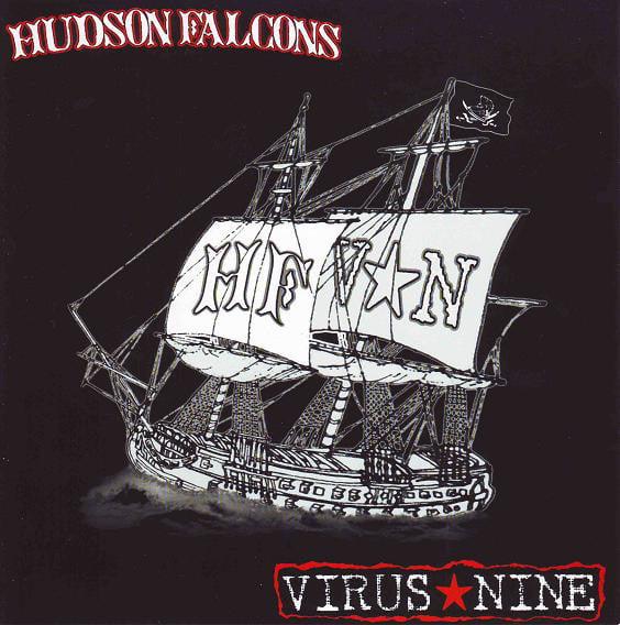 """Image of Hudson Falcons / Virus Nine split 7"""""""