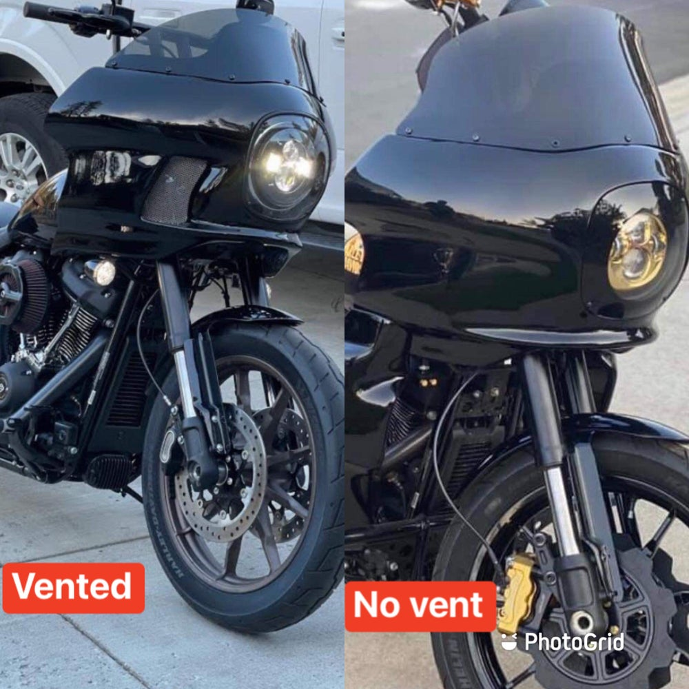 """Image of 2020s Softial FXRT Reproduction """"Closed Back"""" Fairing Kits - Unpainted 1175"""